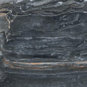 Bergamo Антрацит 7ЛПР vitra 60х60, глазурованный керамогранит