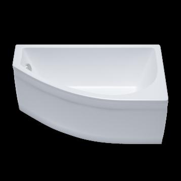 Белла 140х75 Тритон, белая асимметричная акриловая ванна