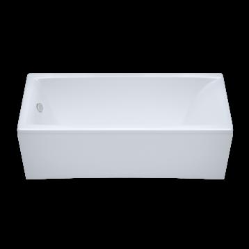 Джена 150х70 Тритон, белая прямоугольная акриловая ванна