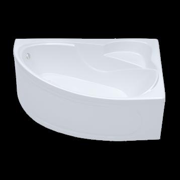Изабель 170х100 Тритон, белая асимметричная акриловая ванна