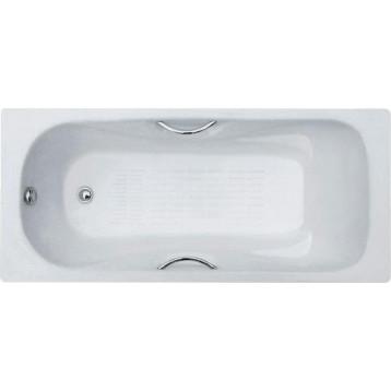 Donni 150х75х41 Goldman ванная чугунная с ручками