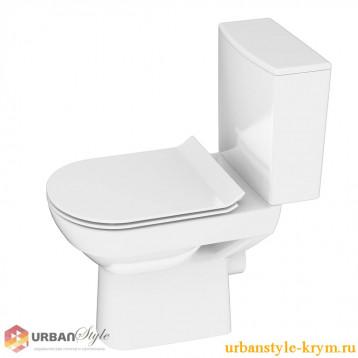 CITY NEW CLEAN ON 011 3/5, дюр.slim, lift, e-off, белый, Компакт