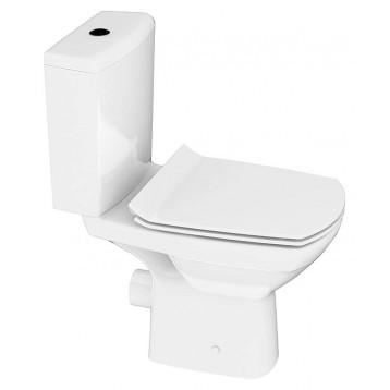 CARINA NEW CLEAN ON 011 3/5,кр.дюр. slim lift,easy-off, белый, Компакт