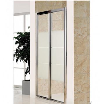 Bifold Eger (599-163M-100) дверь гармошка 100х185, матовое стекло