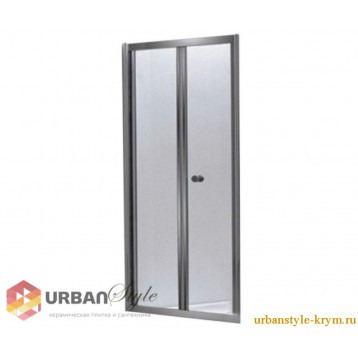 Bifold Eger (599-163-100) дверь гармошка 100х185, прозрачное стекло