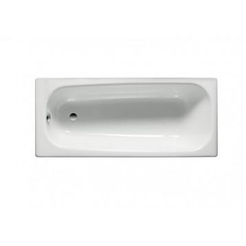 Contessa 120х70 Roca, белая прямоугольная стальная ванна