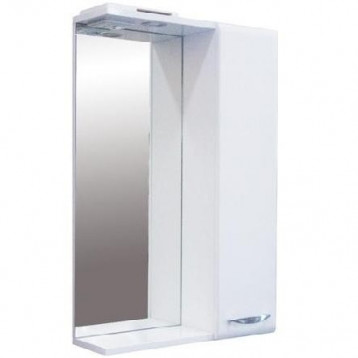 Идеал-01 52 см Sanita, зеркало-шкаф