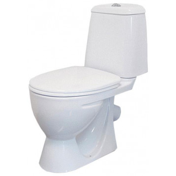 Идеал комфорт Sanita белый унитаз компакт с сиденьем дюропласт