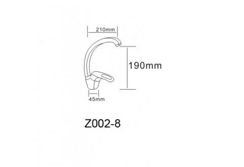 ATLANT смеситель для кухни однорычажный, ручка сбоку, хром  40мм