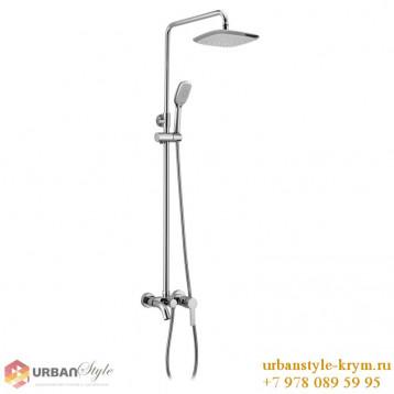 BILA DESNE система душевая(смеситель для ванны,верхний и ручной душ 3 режима,шланг 1.5м)