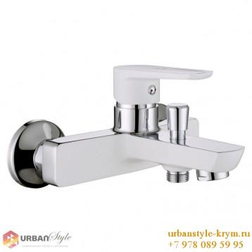 BRECLAV смеситель для ванны, хром/белый, 35мм