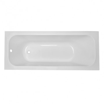 Altea 170х70 Volle, белая прямоугольная акриловая ванна