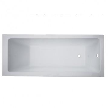 Libra 150х70 Volle, белая прямоугольная акриловая ванна