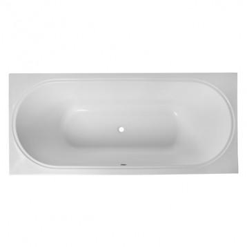Olivia 180х80 Volle, белая прямоугольная акриловая ванна