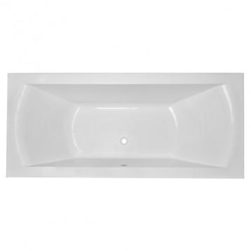 Teo 170х80 Volle, белая прямоугольная акриловая ванна