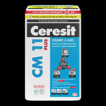 Ceresit СМ 11 Plus. Клей для керамической плитки и для керамогранита