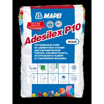 ADESILEX P10, белый цементный клей для укладки стеклянной, керамической и мраморной мозаики